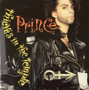 "Prince ‎- Thieves In The Temple (7"") (G/G)"